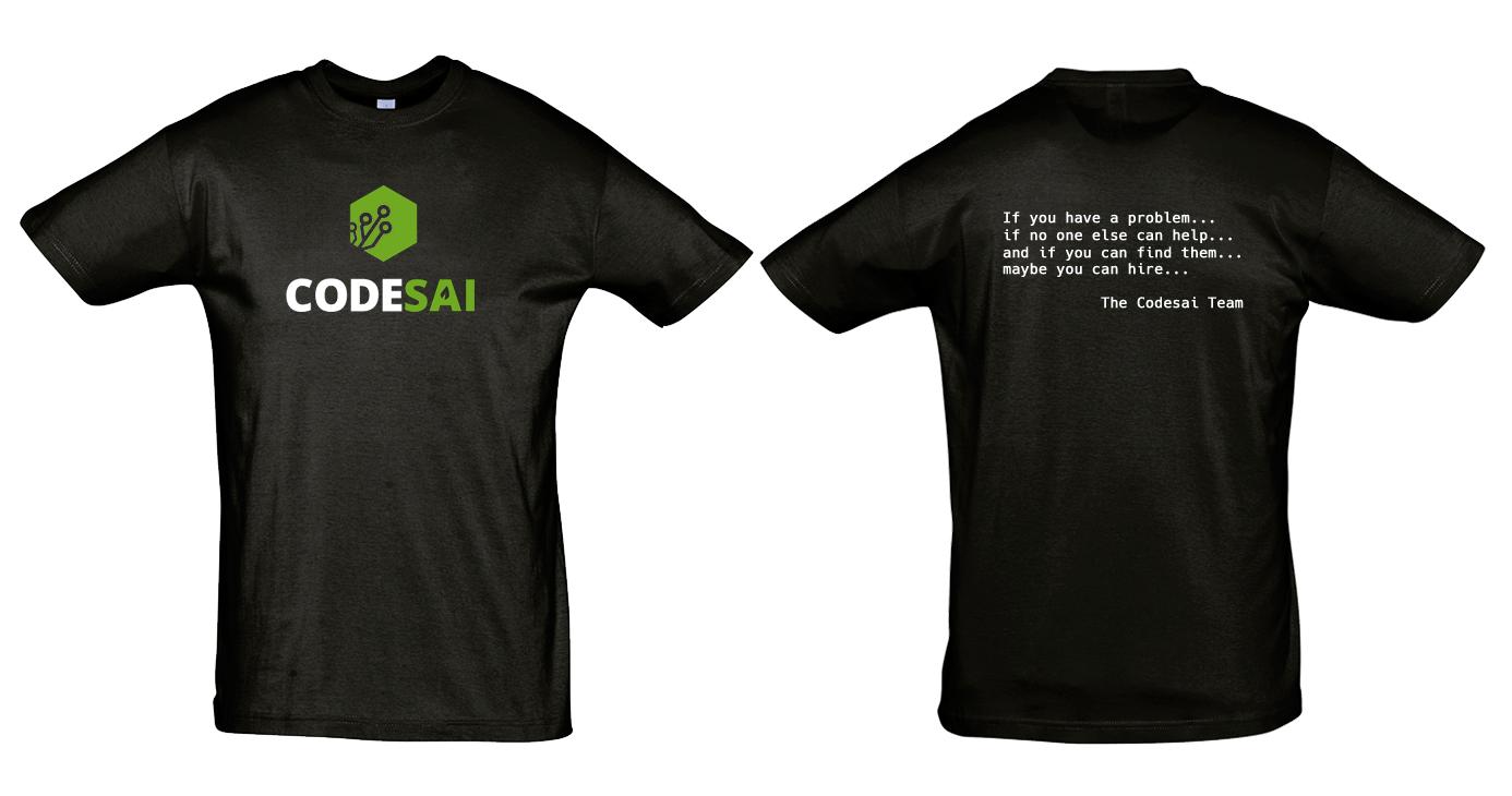 Camisetas CodeSAI