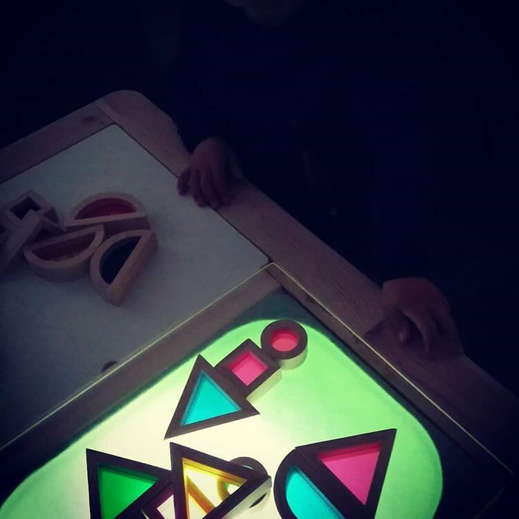 DIY Mesa de luz