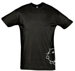REGENT Camiseta para hombre, de cuello redondo