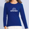 MAJESTIC camiseta de manga larga para mujer