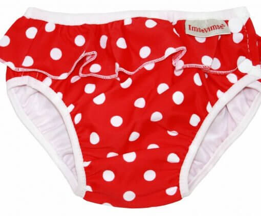 Swim Diaper Red Dots