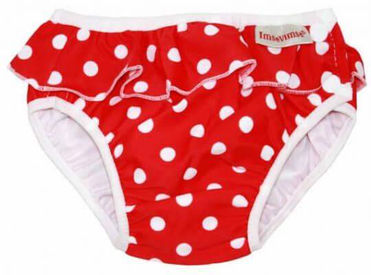 Swim Diaper Red Dots