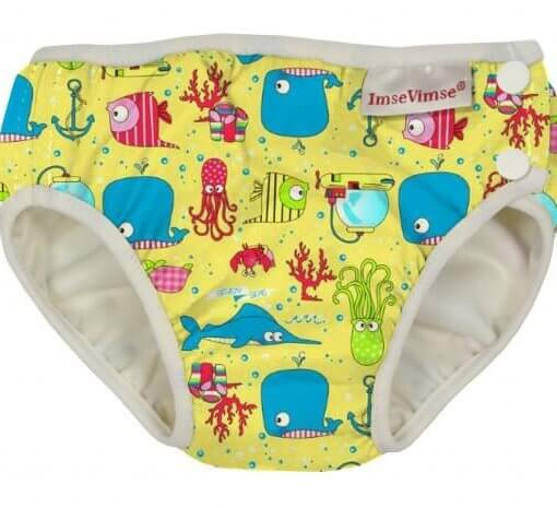 Swim Diaper - Yellow Seven Seas