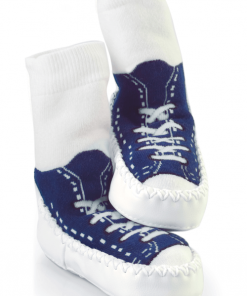 Mocc Ons - Navy Sneaker Ranger calcetines zapatillas