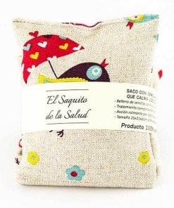Anticólicos pajaritos, saco de semillas para el bebé