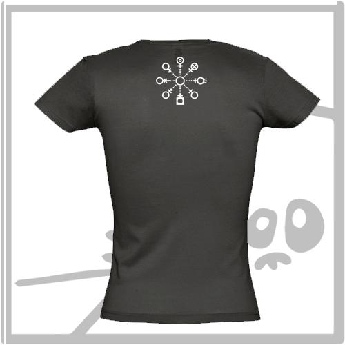"""PINGa - Miss - Camisetas para chicas """"ping a programadoras"""" @pingmujeres"""