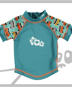 Campervan Green ( XXL ) - Camiseta UV 50+