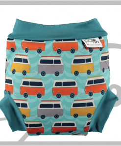 Campervan Green ( XXL ) - Pañal bañador – Swim Diaper