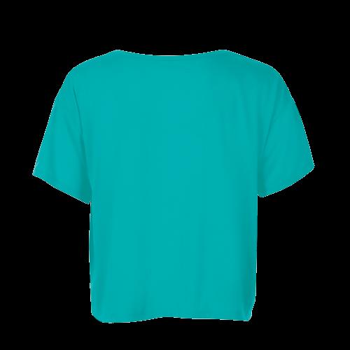 MAEVA - Camiseta top corto, para mujer
