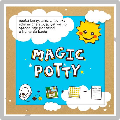 Libro de aprendizaje Magic Potty para dejar el pañal