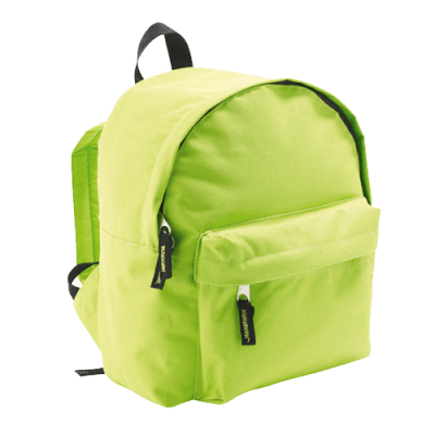 Apple green – Mochila RIDER KIDS