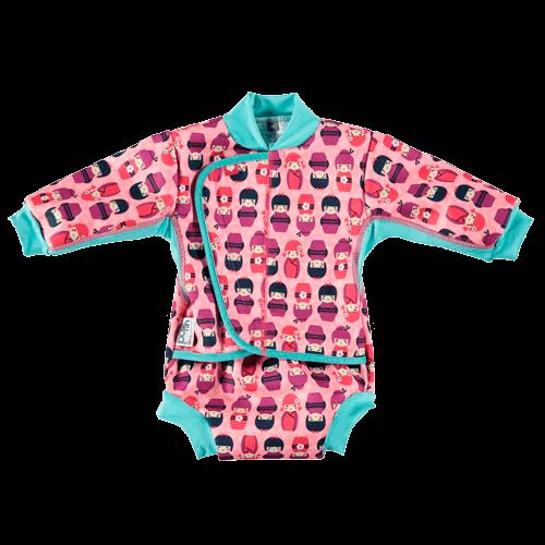 Traje de baño bebé UV Kokeshi con Pañal bañador – Swim Diaper