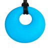Azul - Donut collar - joyas realizadas en silicona