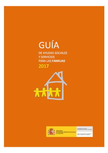 Guía de ayudas sociales y servicios para las familias 2017