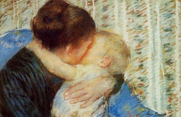 BeBostomía - Madre e hijo de Mary Cassatt