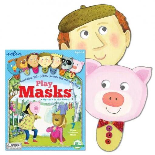 Máscaras, Misterio en El Bosque de Eeboo