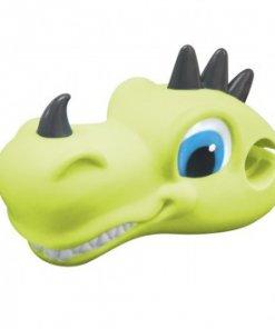 Dragón verde es un accesorio para patinetes