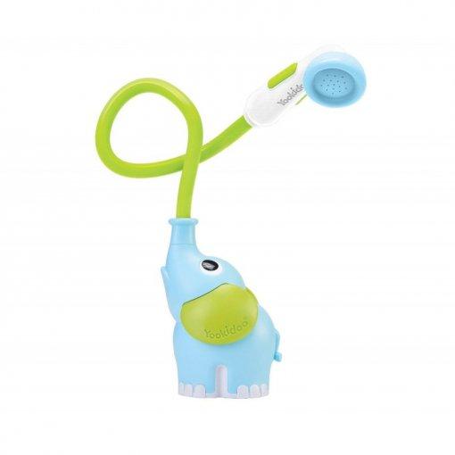 Elefante azul, ducha para bañera de yookidoo