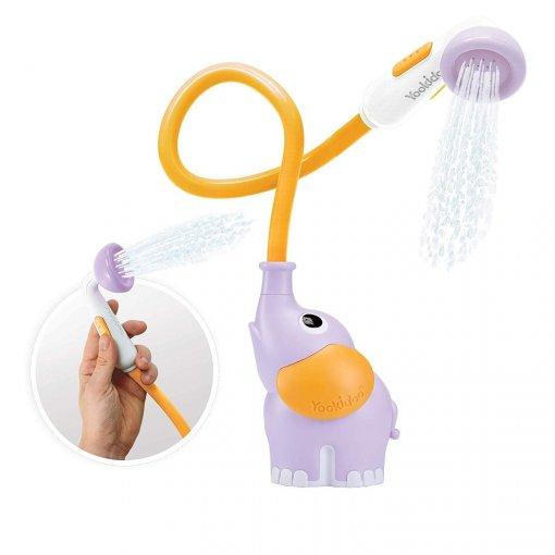 Elefante lila, ducha para bañera de yookidoo