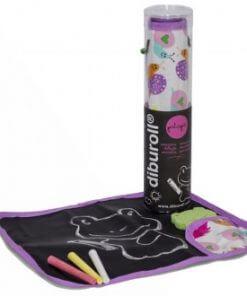 Pizarra enrollable de Diburoll violeta