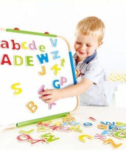 Letras magnéticas ABC de Hape