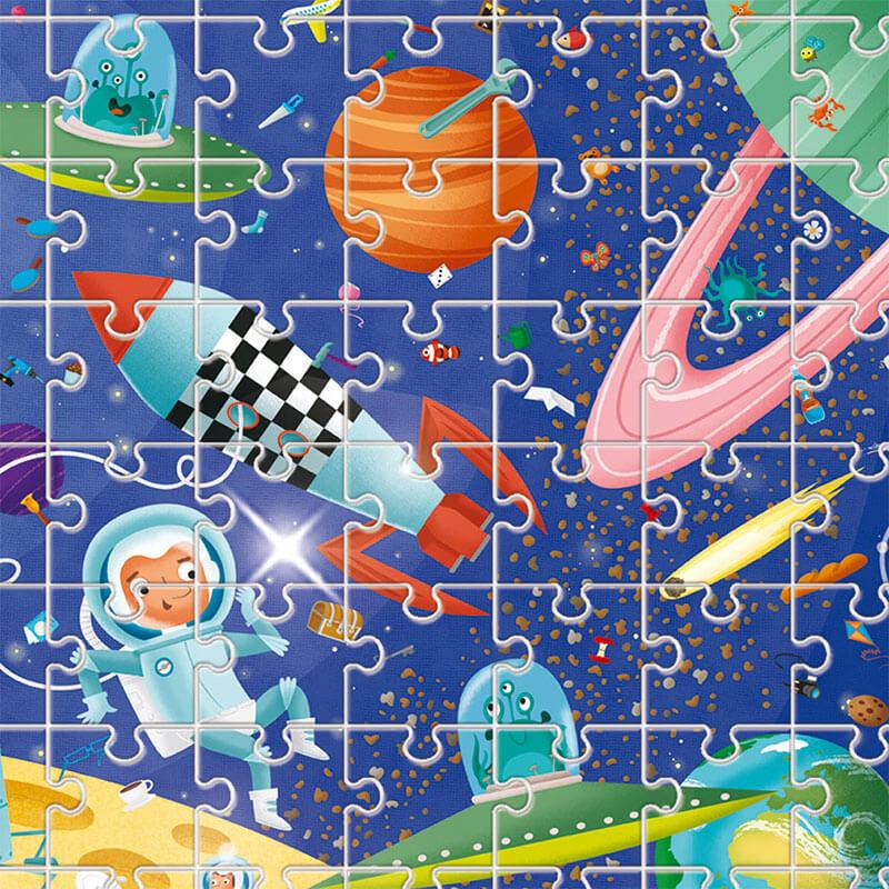 Puzzle Detective: En el espacio de Ludattica