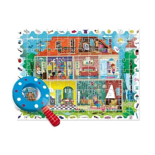 Puzzle Detective: En casa de Ludattica