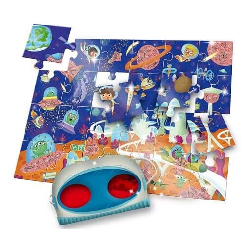 Puzzle secreto el espacio de Ludattica