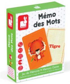 Mémo des Mots - Idioma francés de Janod