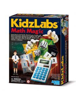 Magia con matemática de Kidzlabs