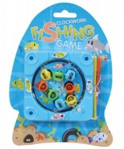 Juego de pesca con mecanismo de relojería