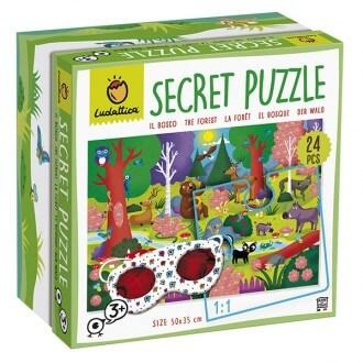 Puzzle secreto del bosque - Ludattica