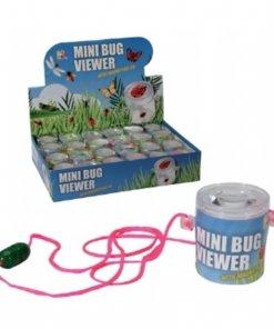 Mini visor de insectos con tapa de aumento