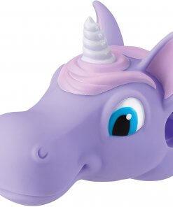 Unicornio lila accesorio para patinetes